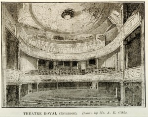Interior of the Theatre Royal