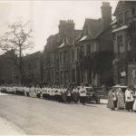 Around 1930: Corpus Christi Festival parade