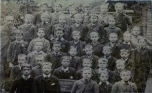 Wesleyan School, Portland Street, F Cecil Smith 3 rows back, 2nd left.