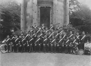 Royal Spa Band  June 1902