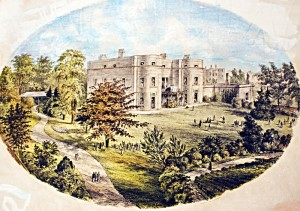 Beech Lawn in Warwick Street, built for Dr Jephson in 1832. The Fire Station now stands on the site