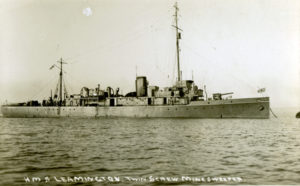 The minesweeper  1918 - 1928
