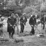 Protesting at the Corporation's neglect of the Dell, 1971