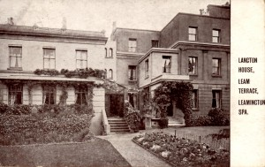 Langton House, Leam Terrace (J Clark)