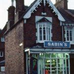 Sabin's in Farley Street