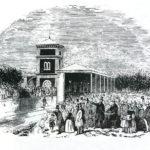 First Milverton Station, 1844 courtesy Windows on Warwickshire