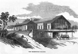 Original GWR Station 1853