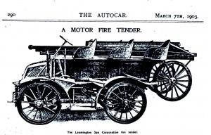 Motor Fire Tender