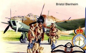 BristolBlenheim postcard