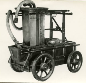 Typical early 19th century manual engine  Alan Griffin