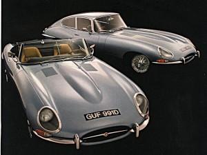 Jaguar-E Type magazine ad.