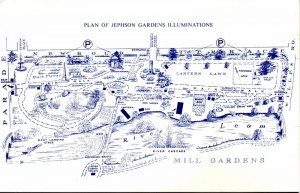 Lights of Leamington: Plan of Gardens