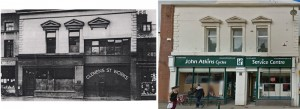Clemens Street c 1925 and 2014