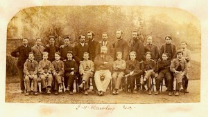 J H Hawley, Staff and pupils. Couutesy Alan Griffin archive