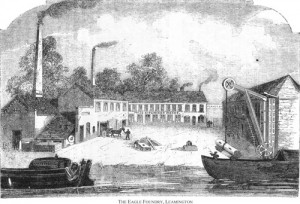 Eagle Foundry from Canal 1877
