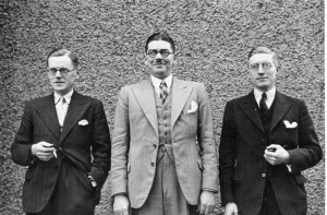 The brothers William, Percy and Alfred, ©  David Budd