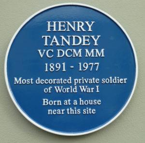 Henry Tandey VC DCM, MM