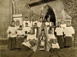 Clergy &Servers, c 1920