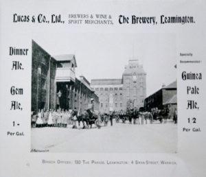 3. Advertisement c. 1900