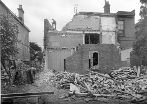 Demolition of 20 Newbold Terrace