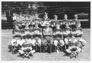 Feldon u XV 1963. J Swift seated 2nd from rt, middle row, © J Swift