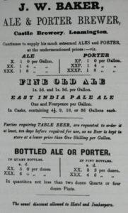 1846 Advertisement