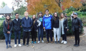 Barry & Tom's Walk with Students from University of California