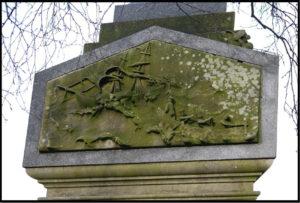 panel-on-gravestone
