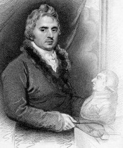 Sculptor Peter Turnerelli 1821