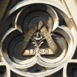 1869, All Saints Church, south door