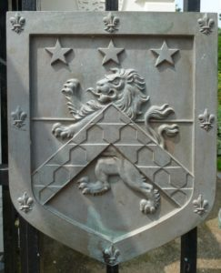 On the gates of the Jephson Gardens