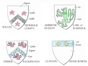 The author's version of the four component arms in 1984