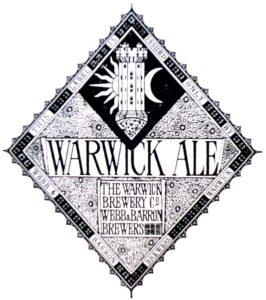 Bottle Label, circa 1867, Depicting Guy's Tower, Warwick Castle ['Warwickshire Breweries' - Joseph McKenna]