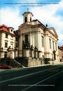 The church of St Cyril & Methodius on Resslova Street in Prague, where the paratroopers were sheltered by the Czech Resistance