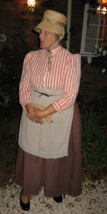 Christine Cluley, as Mary Beamish, Heritage Open Day 2011