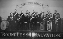 Salvation Army Band, 1950