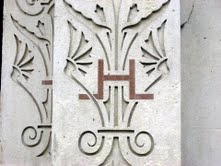 Hubert Lloyd's initials (221x166)