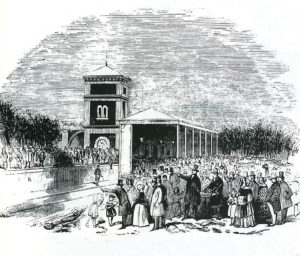 First Milverton Station, 1844 courtesy Windows on Warwickshire
