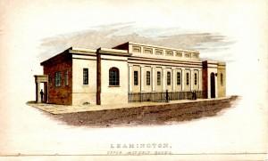 Upper Assembly Rooms, opened Sept 1812. (John Merridew, 1822)