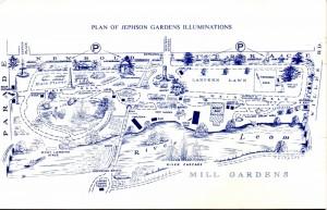 Lights of Leamington: Plan of Gardens