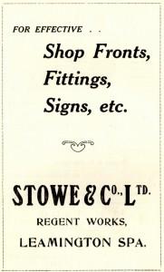 Stowe & Co,1925