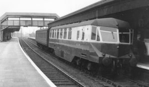 Diesel Railcar 1955 (Barry Franklin collection)