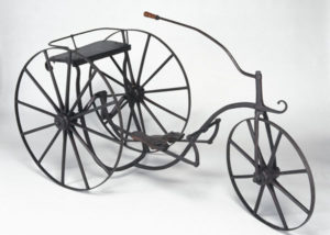 A typical early tricycle (courtesy of Wikimedia Commons)