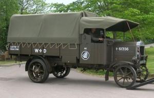 World War I lorry