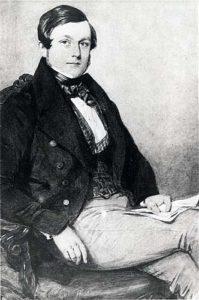 Portrait of Thomas Baker by Octavius Oakley. © Leamington Spa Art Gallery & Museum (Warwick District Council).
