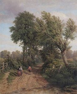 Thomas Baker: At Snitterfield 1838, © Leamington Spa Art Gallery & Museum (WDC).