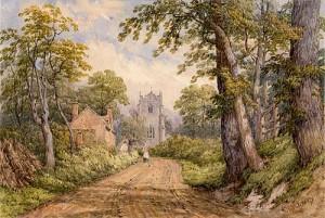 Thomas Baker: At Lillington, 1856 © Leamington Spa Art Gallery & Museum (WDC).