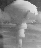 Christmas Island. The bomb