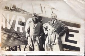 W G Budd and Alan Cobham, 1920s