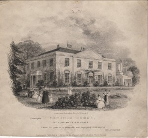Newbold Comyn, Home of Miss Walker © LHG Archive
